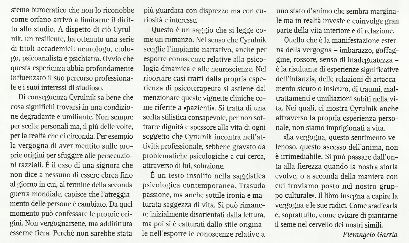 Confini dell anima page 230 - Comments